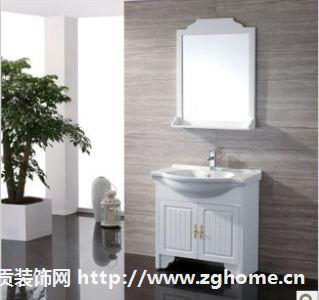 朗司卫浴落地实木浴室柜\新款田园\白色800CM/时尚卫浴柜:RS8708