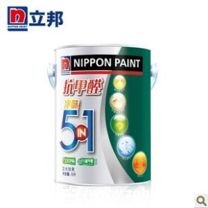 立邦漆抗甲醛净味五合一 内墙 乳胶漆 油漆/涂料 5L